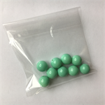 9 mint gumball beads