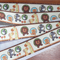 Ribbon  Animals in Natural & Brights   2.5cm X 1 metre Saying Hello to YOU
