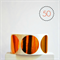 Copper Circle Stickers Foil {50} Large {50mm} | Gift Envelope Seals DIY Supplies