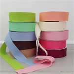 5mts x 5cm wide Grosgrain Ribbon 10 colours