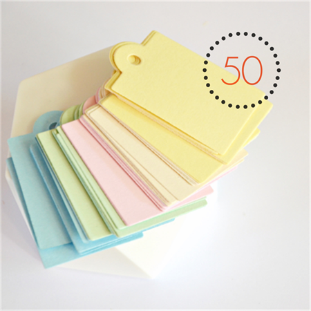 Pastel Gelati Large Tags {50} | Wedding Engagement | Merchandising Labels