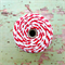 Super Chunky {30ply} Red Twine {5.0m} | Red White Bakers Twine or Cord