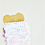 White Pearl Sequin Ribbon Trim {5.0m} DIY Craft Supply | Wedding Christmas Wrap