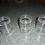 Glass jars for Candle Making 24 no lids