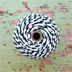 Super Chunky {30ply} Dark Green Twine {5.0m} | Green White Bakers Twine or Cord