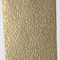 15 x pieces of embossed shimmer paper - gold