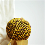 Baker's Twine {12ply} Yellow + Grape {20.0m} | DIY Supplies | Striped String