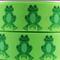1 Metre, GREEN FROGS, Reptiles, 25mm, Grosgrain Ribbon, 1 inch, Crafts, Hair