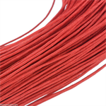 10mts Red Waxed Cotton Necklace Cord 1mm
