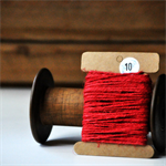 Chunky Red Twine {10m} | Chunky Twine | Red Twine | Rustic Red Twine