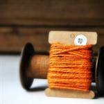 Chunky Orange Twine {10m} | Chunky Twine | Orange Twine | Rustic Orange Twine