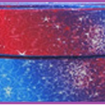 1 Metre, GALAXY, 22mm, Grosgrain, Stars, Ribbon, 7/8, Crafts, Hair