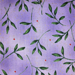 quilters cotton fabric in violet tones