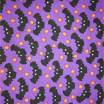 Purple novelty fabric