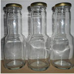 Sauce Bottles New with lids