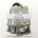 10x large embellished gift tags