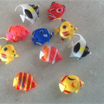 10 Artificial Tropical Fish Floating Moveable for Kids Fish Tank.Free post