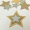 Diecut Stars (30), Cardboard Stars, Recycled Craft Materials
