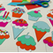 Sweet Treats Printable Papercraft, Craft for adults & children, Embellishments