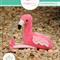 Flamingo Stuffed Animal Sewing Pattern PDF Rosie Flamingo Softie Pattern