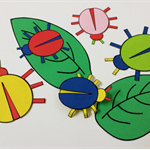 Bugs Printable Papercraft, DIY Craft for adults and children, Party Game