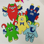 Monster Mash Printable Papercraft, DIY Craft for adults and children, Party Game