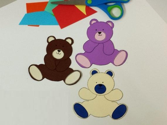 Teddy bear pirate machine embroidery pattern inch hoop teddy