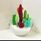 Mini Cactus Garden 3D Papercraft, PDF Printable, Craft for Adults & Kids 6+