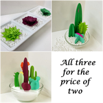 Cactus & Succulent Gardens Papercraft Multiple Purchase Listing