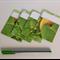 Library Pocket, Pumpkin Envelope, Scrapbook Page Pockets, Journal Card Sleeve