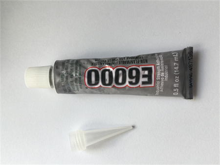 E6000 14.7ml tube with applicator tip