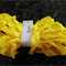 Hand Dyed Crinkle Ribbon - Butter