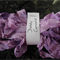 Hand Dyed Crinkle Ribbon - Dusty Concord