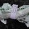 Hand Dyed Crinkle Ribbon - Milled Lavender