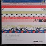 Kaisercraft Paper Pad - Porcelain Road