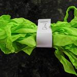 Hand Dyed Crinkle Ribbon - Citron
