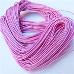 10mts Pink Waxed Cotton Necklace Cord 1mm