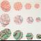 45 x paper punchies (B)