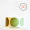 Sage Green Circle Stickers {50} Large 50mm | Gift Envelope Seals DIY Supplies