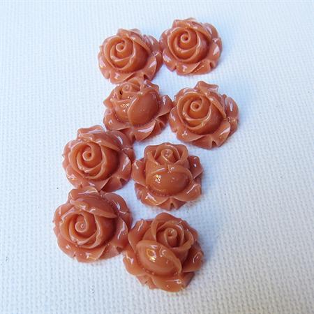 Rose Flower  Flatback Cabochon