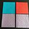 4 blank embossed cards