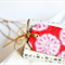 Luxe {3} Gift Tags Red | Embossed Gift Tags | Christmas in July