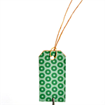 Green Pattern Tags {10} | Green Print Tags | Christmas in July