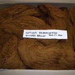 FELTED WOOL Yarn (33 hanks @ 15kg - 300 tex) Weaving Tapestry Rugs