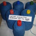 FELTED WOOL Yarn (6 cones @ 6.7kg - 1000 tex) Weaving Tapestry Rugs