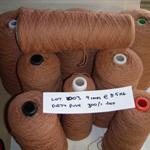 SINGLE PLY WOOL Yarn (9 cones @ 8.5kg - 300/1 tex) Weaving Tapestry Rugs