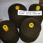 FELTED WOOL Yarn (4 cones @ 7.1kg - 1000 tex) Weaving Tapestry Rugs