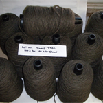 FELTED WOOL Yarn (12 cones @ 13.9kg - 1000 tex) Weaving Tapestry Rugs
