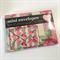 Floral mini envelopes