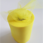 "Yellow Tulle 100yard roll x 6"" wide - tutu making"